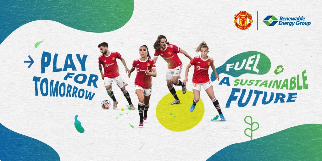 Renewable Energy Group and Manchester United Kick Off an International Partnership with an Assist from Tunheim and its Partners